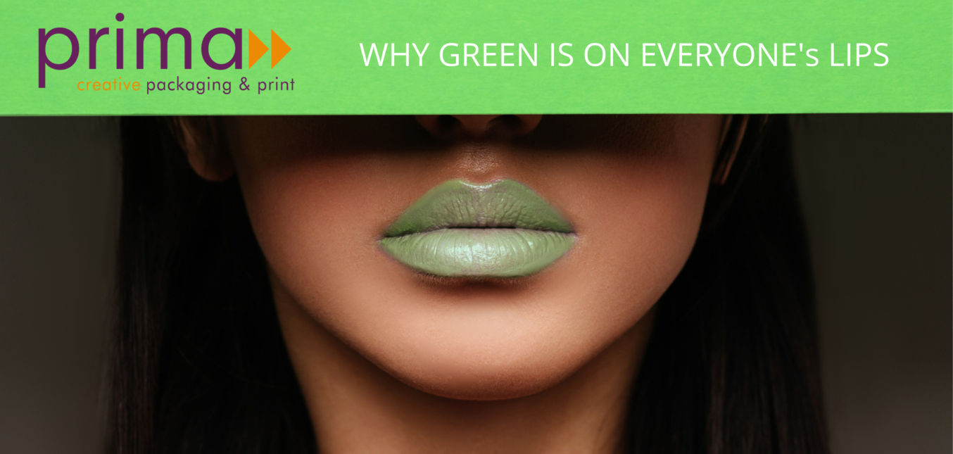 WHY GREEN IS ON EVERYONE's LIPS